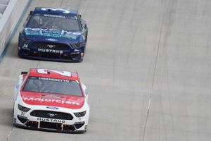 Matt DiBenedetto, Wood Brothers Racing, Ford Mustang Motorcraft / Quick Lane, Michael McDowell, Front Row Motorsports, Ford Mustang Revolve Finance