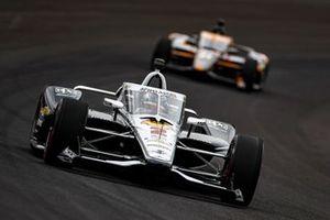 Josef Newgarden, Team Penske Chevrolet, Rinus VeeKay, Ed Carpenter Racing Chevrolet