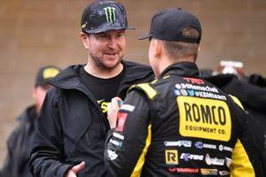 John Hunter Nemechek, Kyle Busch Motorsports, Toyota Tundra ROMCO and Kurt Busch
