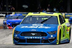 Matt DiBenedetto, Wood Brothers Racing, Ford Mustang Menards / Dutch Boy