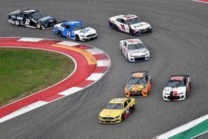 Josh Bilicki, Rick Ware Racing, Ford Mustang and James Davison, Rick Ware Racing, Chevrolet Camaro