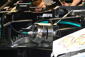 Mercedes W12 brake front duct detail