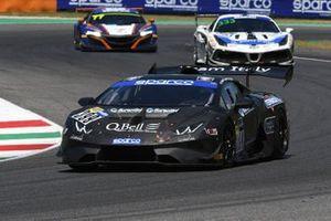 #399 Team Italy, Lamborghini Huracan Super Trofeo: Ermanno Dionisio, Giacomo Barri, Alfredo Varini