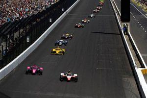 Pietro Fittipaldi, Dale Coyne Racing avec RWR Honda, Jack Harvey, Meyer Shank Racing Honda