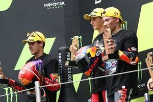 Sergio Garcia, Aspar Team Moto3, podium,
