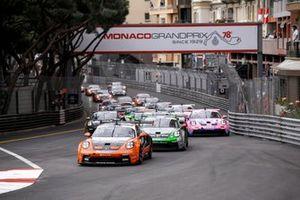 Start action, Larry ten Voorde, GP Elite leads