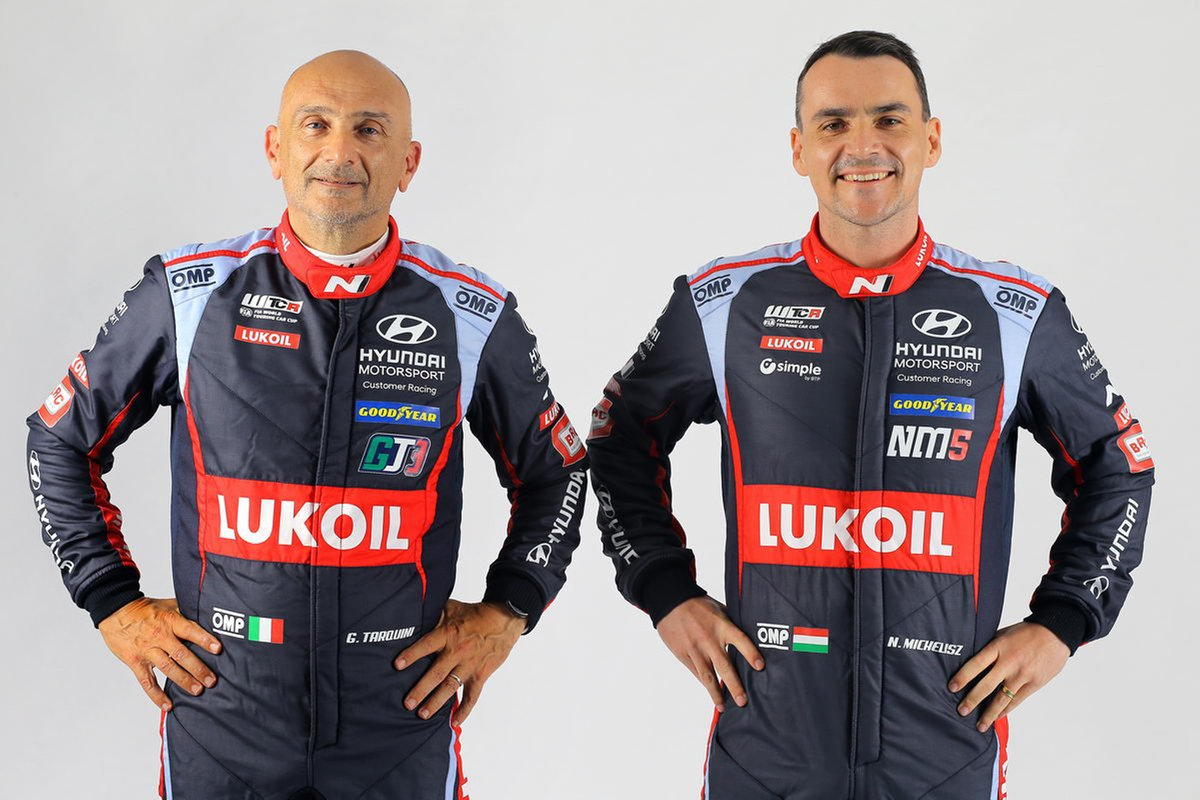 Gabriele Tarquini, Norbert Michelisz, BRC Hyundai N LUKOIL Squadra Corse