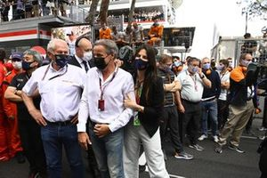 Helmut Marko, Consultant, Red Bull Racing and Kelly Piquet