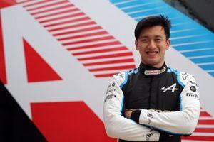 Guanyu Zhou, Alpine F1 Team Test Driver