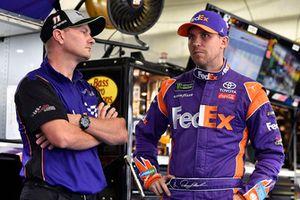 Denny Hamlin, Joe Gibbs Racing, Toyota Camry FedEx Freight e Michael Wheeler