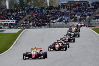 Mick Schumacher, PREMA Theodore Racing Dallara F317 - Mercedes-Benz leads