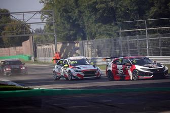 Viktor Davidovski, PSS Racing Team Honda Civic Type R TCR, Dániel Nagy, M1RA Hyundai i30 N TCR