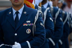 Air Force Honor Guard, Pre-Race.