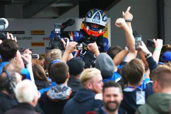 Race winner Aiden Moffat, Laser Tools Racing Mercedes A-Class