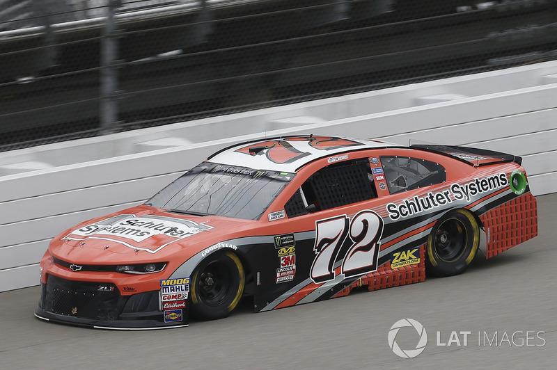 32. Corey LaJoie, TriStar Motorsports, Chevrolet Camaro Schluter Systems