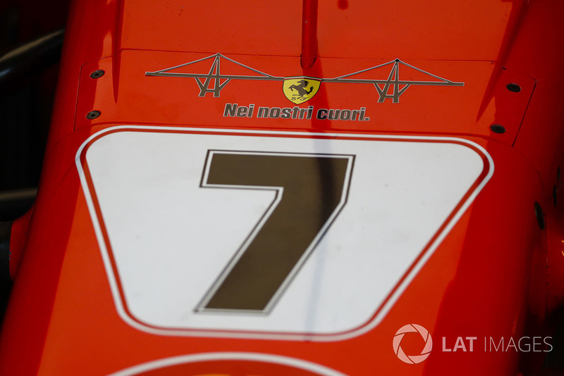 Homenaje de Ferrari a las víctimas del puente de Génoéva
