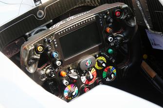 Sauber F1 steering wheel