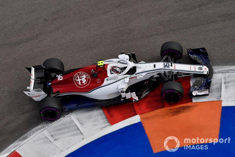 Charles Leclerc: Sauber - 9 puan