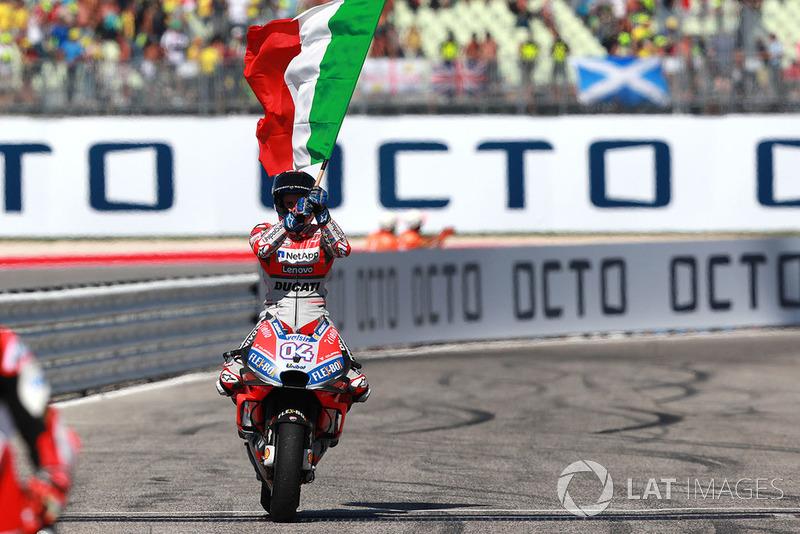 2018: Andrea Dovizioso (Ducati Desmosedici)