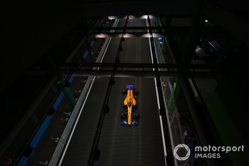 18: Стоффель Вандорн, McLaren MCL33