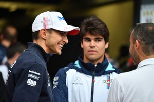 Esteban Ocon, Racing Point Force India F1 Team et Lance Stroll, Williams Racing