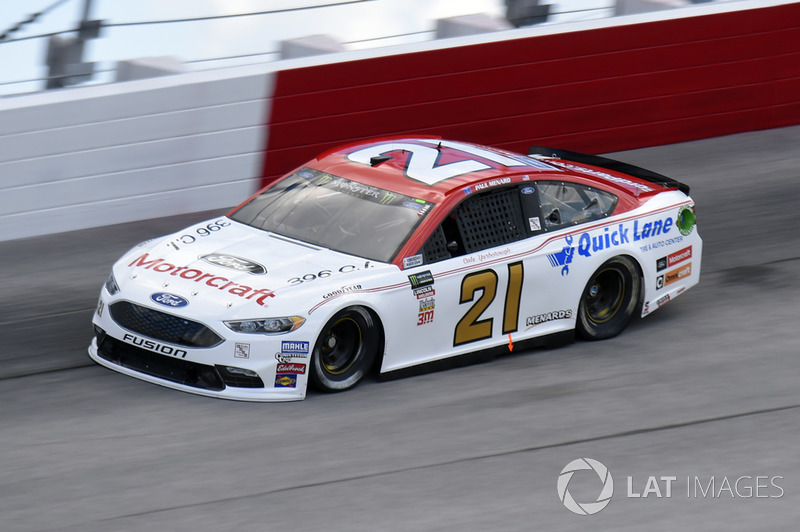 Paul Menard, Wood Brothers Racing, Ford Fusion