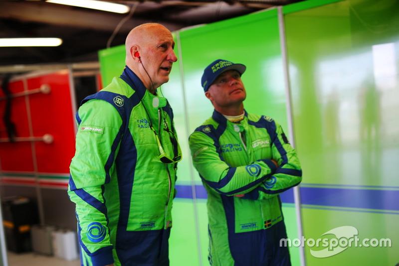 #83 Krohn Racing Ferrari F488 GTE: Tracy Krohn, Niclas Jönsson