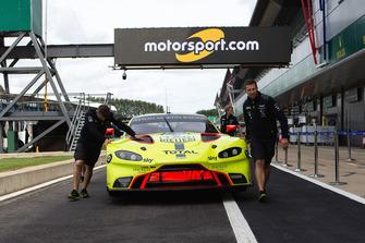 #95 Aston Martin Racing Aston Martin Vantage AMR: Marco Sorensen, Nicki Thiim sotto all'insegna di Motorsport.com