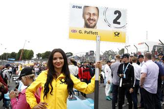 Grid girl of Gary Paffett, Mercedes-AMG Team HWA