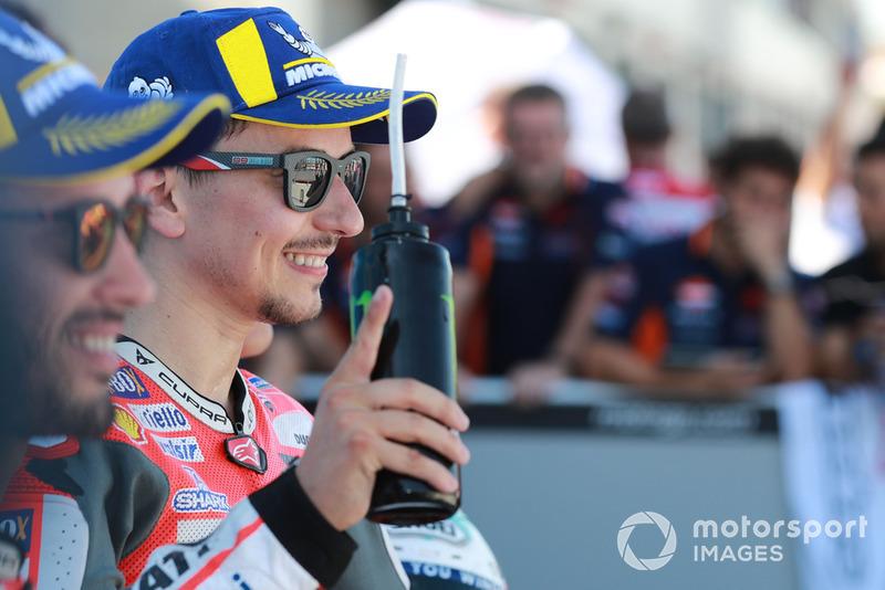 Ganador de la pole Jorge Lorenzo, Ducati Team