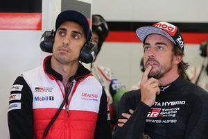 #8 Toyota Gazoo Racing Toyota TS050: Sebastien Buemi, Fernando Alonso