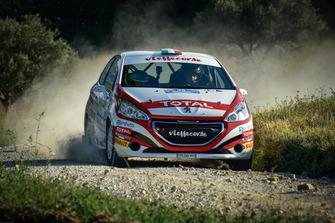 Andrea Mazzocchi, Silvia Gallotti, Peugeot 208 R2B, Leonessa Corse