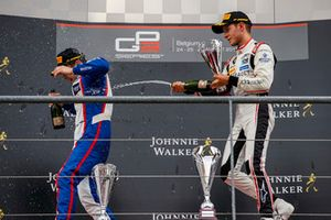 Podium: David Beckmann, Trident, Anthoine Hubert, ART Grand Prix