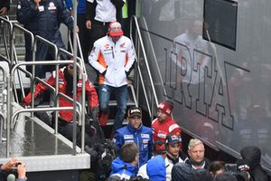 Marc Marquez, Repsol Honda Team, leaving Safety commission meeting