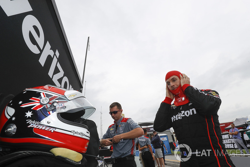 Will Power, Team Penske Chevrolet, crew