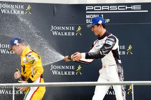Podium: Larry ten Voorde, Team Project 1, Thomas Preining, BWT Lechner Racing