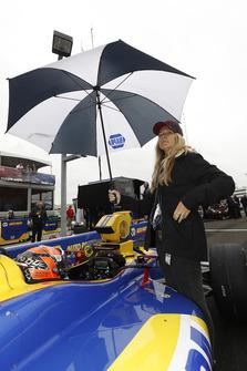 Alexander Rossi, Andretti Autosport Honda, Liza Markle