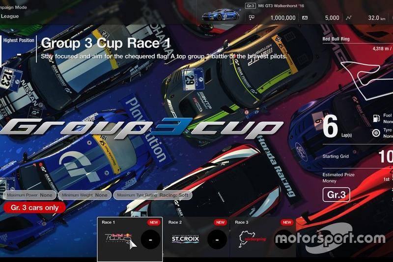 GT League: Gr.3 Cup