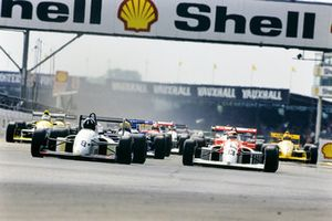 1990 Silverstone, Damon Hill and Allan McNish