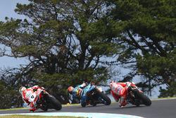 Danilo Petrucci, Pramac Racing, Tito Rabat, Estrella Galicia 0,0 Marc VDS, Andrea Dovizioso, Ducati