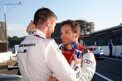Martin Tomczyk, BMW Team Schnitzer et Timo Scheider, Audi Sport Team Phoenix
