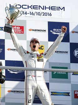 Podium: Race winner Lance Stroll, Prema Powerteam Dallara F312 - Mercedes-Benz