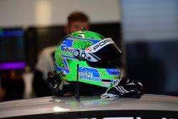 Helmet #77 Proton Competition Porsche 911 RSR 991: Marco Seefried