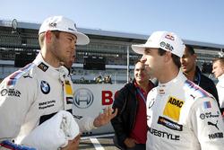 Tom Blomqvist, BMW Team RBM, BMW M4 DTM; António Félix da Costa, BMW Team Schnitzer, BMW M4 DTM