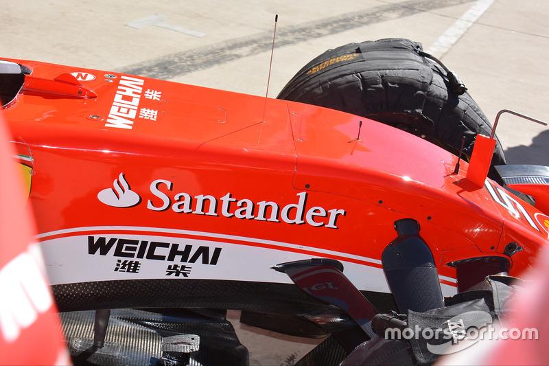 Coche de Sebastian Vettel, Ferrari SF16-H