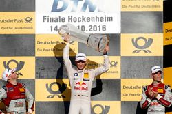 Podium: le champion 2016, Marco Wittmann, BMW Team RMG, BMW M4 DTM
