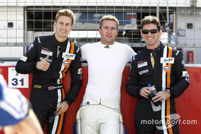 Michael Wainwright, Ben Barker, Gulf Racing, Christian Ried, KCMG