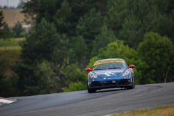 #7 Rebel Rock Racing Porsche Cayman: Jim Jonsin, Mike Mathe