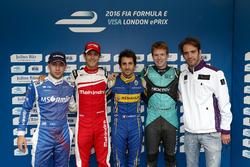 Top Five Drivers Qualifying: Nicolas Prost, Renault e.Dams; Bruno Senna, Mahindra Racing; Robin Frijns, Amlin Andretti Formula E Team ; Oliver Turvey, NEXTEV TCR Formula E Team; Jean-Eric Vergne, DS Virgin Racing