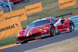#68 Scuderia Corsa, Ferrari 488 GTE: Alessandro Pier Guidi, Daniel Serra